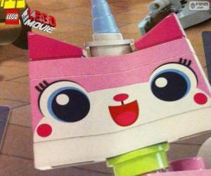 Unikitty, das Einhorn-Kätzchen für das große Abenteuer der Lego, der film puzzle