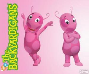 Uniqua, die Backyardigans puzzle
