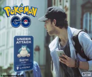 Unter Beschuss, Pokémon GO puzzle