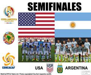 USA-ARG, Copa America 2016 puzzle