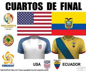 USA - ECU, Copa America 2016 puzzle
