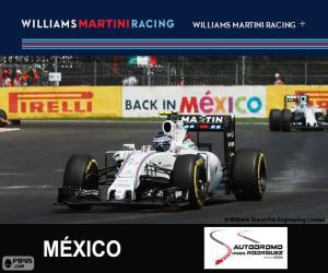 V. Bottas Großer Preis von Mexiko 2015 puzzle