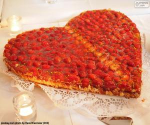 Valentinstag Kuchen puzzle