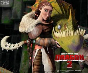 Valka Mutter Hiccup puzzle