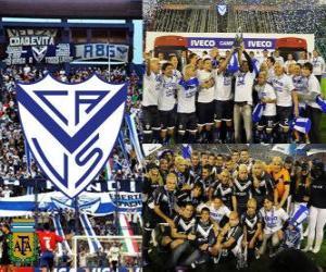 Velez Sarsfield, 2011 Clausura Meister Argentinien puzzle