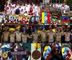 Venezuela, 4. klassifiziert Copa America 2011 puzzle