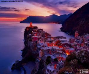 Vernazza, Italien puzzle