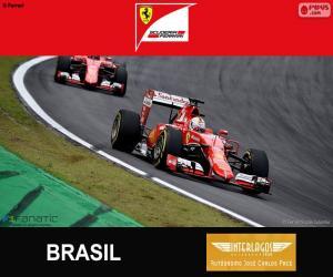 Vettel, Großer Preis von Brasilien 2015 puzzle