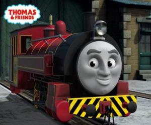 Victor ist der Betriebsleiter der Sodor Steamworks puzzle