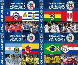 Viertelfinale, Chile 2015 puzzle