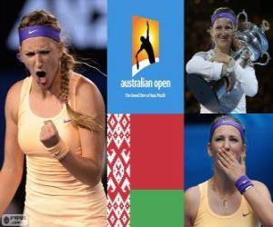 Viktoria Azarenka Meister Open Australien 2013 puzzle