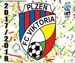 Viktoria Plzen, HET Liga 2017-18 puzzle