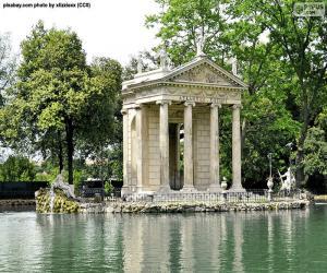 Villa Borghese, Rom puzzle