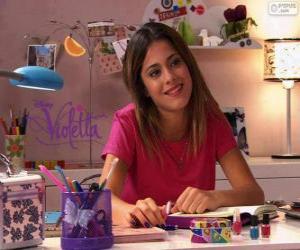 Violetta an seinem Tisch puzzle