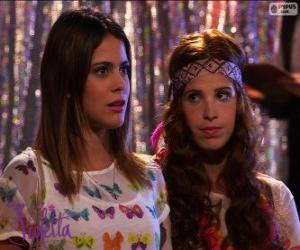 Violetta und Camila puzzle