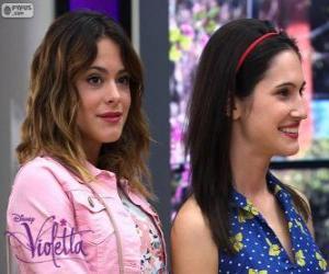 Violetta und Francesca puzzle