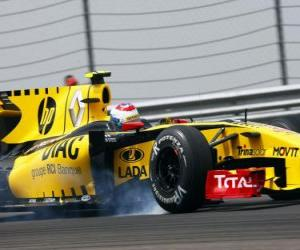 Vitaly Petrov - Renault - Istanbul 2010 puzzle