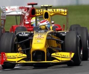 Vitaly Petrov - Renault - Montreal 2010 puzzle