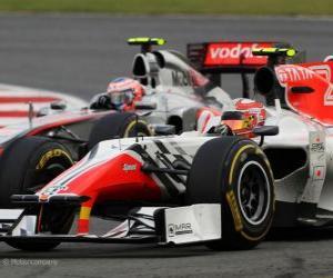 Vitantonio Liuzzi - HRT - Silverstone 2011 puzzle