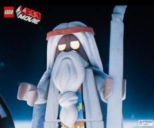 Vitruvius, der alte Zauberer des Films, das große Lego-Abenteuer puzzle