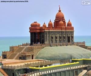Vivekananda Rock Memorial, Indien puzzle