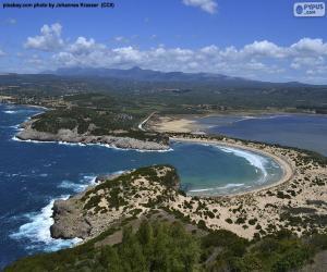 Voidokilia Bay, Griechenland puzzle