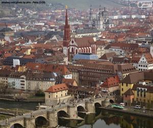 Würzburg, Deutschland puzzle