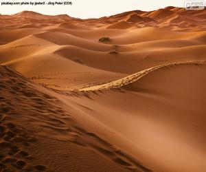Wüste von Marokko puzzle