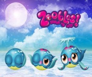 Wal, Zoobles von Seagonia puzzle