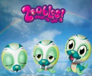 Walross Zooble von Chillville puzzle