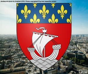 Wappen von Paris puzzle
