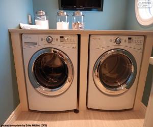 Waschmaschine und Trockner puzzle