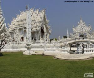 Wat Rong Khun, Thailand puzzle