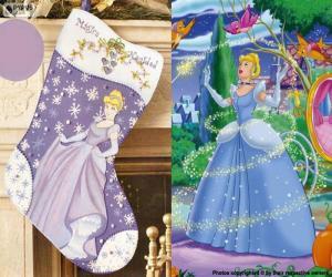 Weihnachten Boot Cinderella puzzle