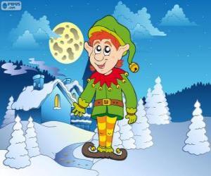 Weihnachten Elf puzzle