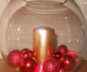 Weihnachten Goldfischglas puzzle