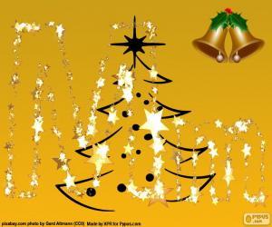 Weihnachten M puzzle