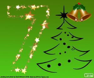 Weihnachten, Nummer 7 puzzle
