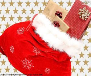 Weihnachten sack puzzle