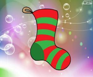 Weihnachten Socke puzzle