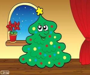 Weihnachten Tanne puzzle