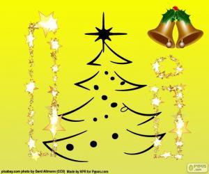 Weihnachten und der Buchstabe I puzzle