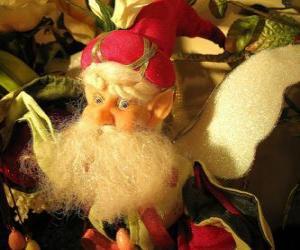 Weihnachts elf puzzle