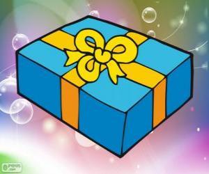 Weihnachts-Geschenk-box puzzle