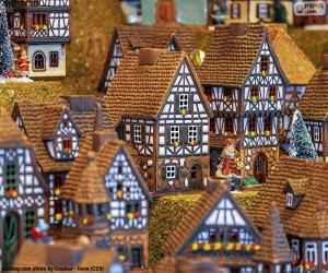 Weihnachtsdorf puzzle