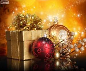 Weihnachtsgeschenk puzzle