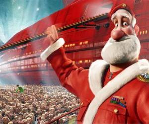 Weihnachtsmann, der Vater von Arthur Christmas puzzle