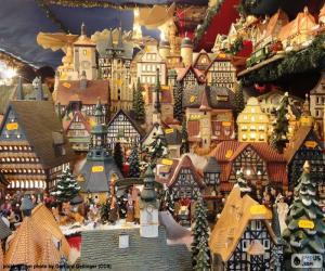 Weihnachtsmarkt, Ornamente puzzle