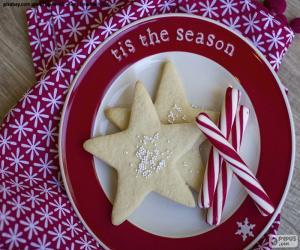 Weihnachtsplätzchen und -dosen puzzle