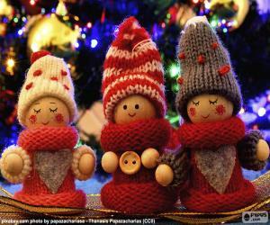 Weihnachtspuppen puzzle